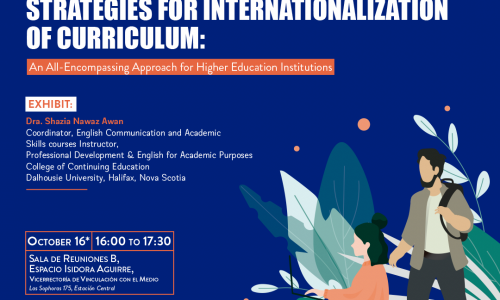 Estrategias para la Internacionalización del curriculum